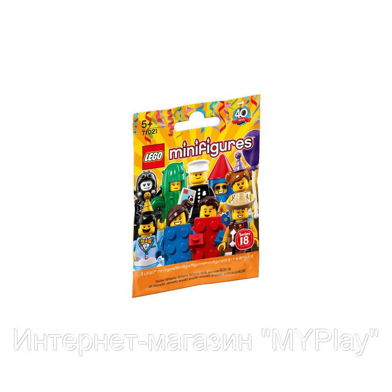 Конструктор LEGO MINIFIGURES SERIES 18 минифигурки