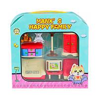 MANXS HAPPY FAMILY игрушечный набор мебель, 9 предметов
