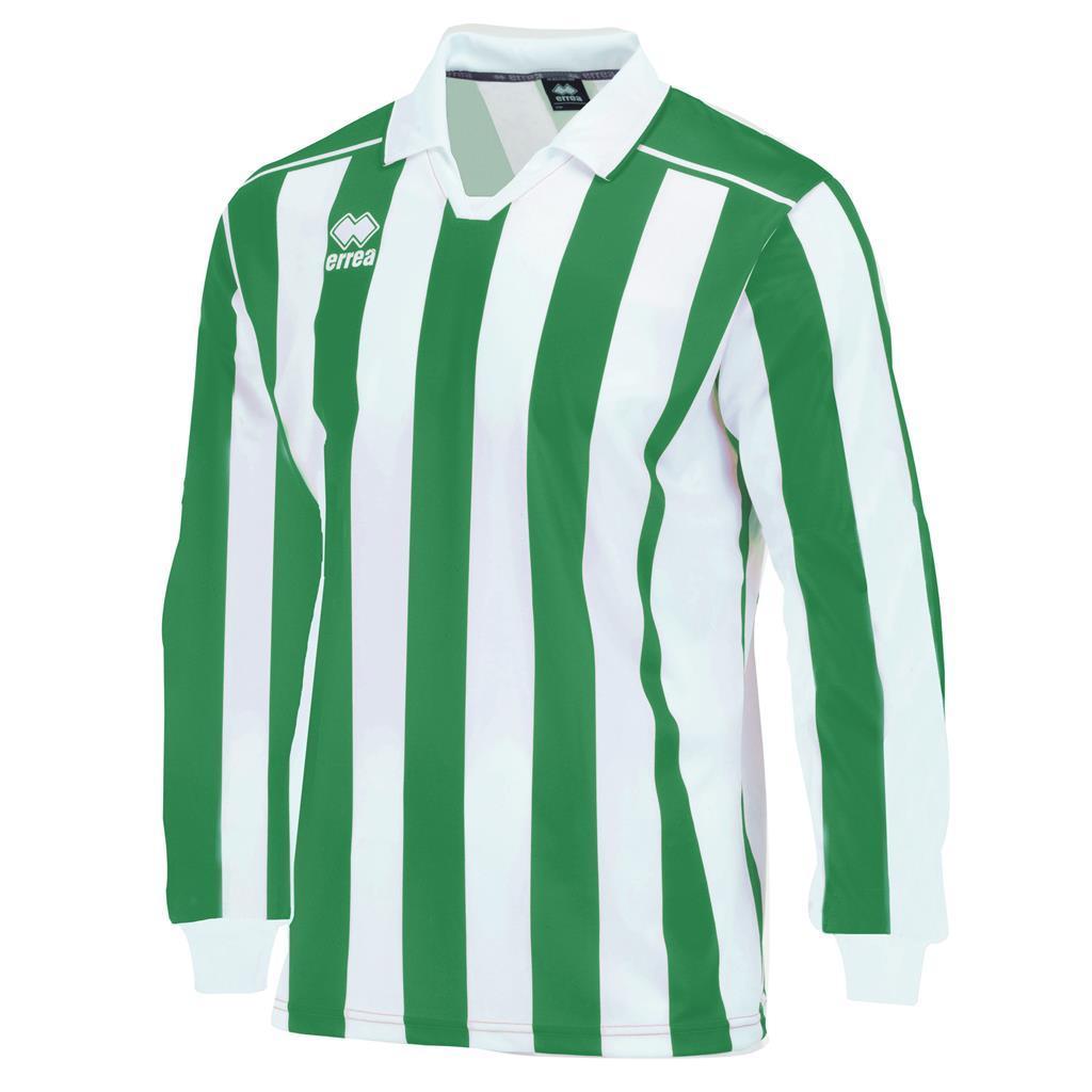 Футболка Errea EYRE L/S YXS зеленый/белый (C121L000090)