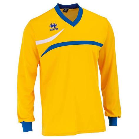 Футболка Errea DERBY L/S XL желтый/синий/белый (D200L000087), фото 2