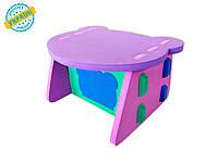 """Детский столик """"Baby desk"""" Eva-Line разноцветный"""