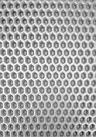 EVA материал для автоковриков (ЭВА листы) 2000*1200 мм серый Eva-Line сота