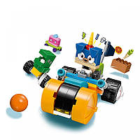 Конструктор LEGO UNIKITTY Трехколесный мотоцикл принца Паппікорна
