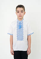 Хлопчача сорочка вишиванка з коротким рукавом, арт. 0109к.р., фото 1