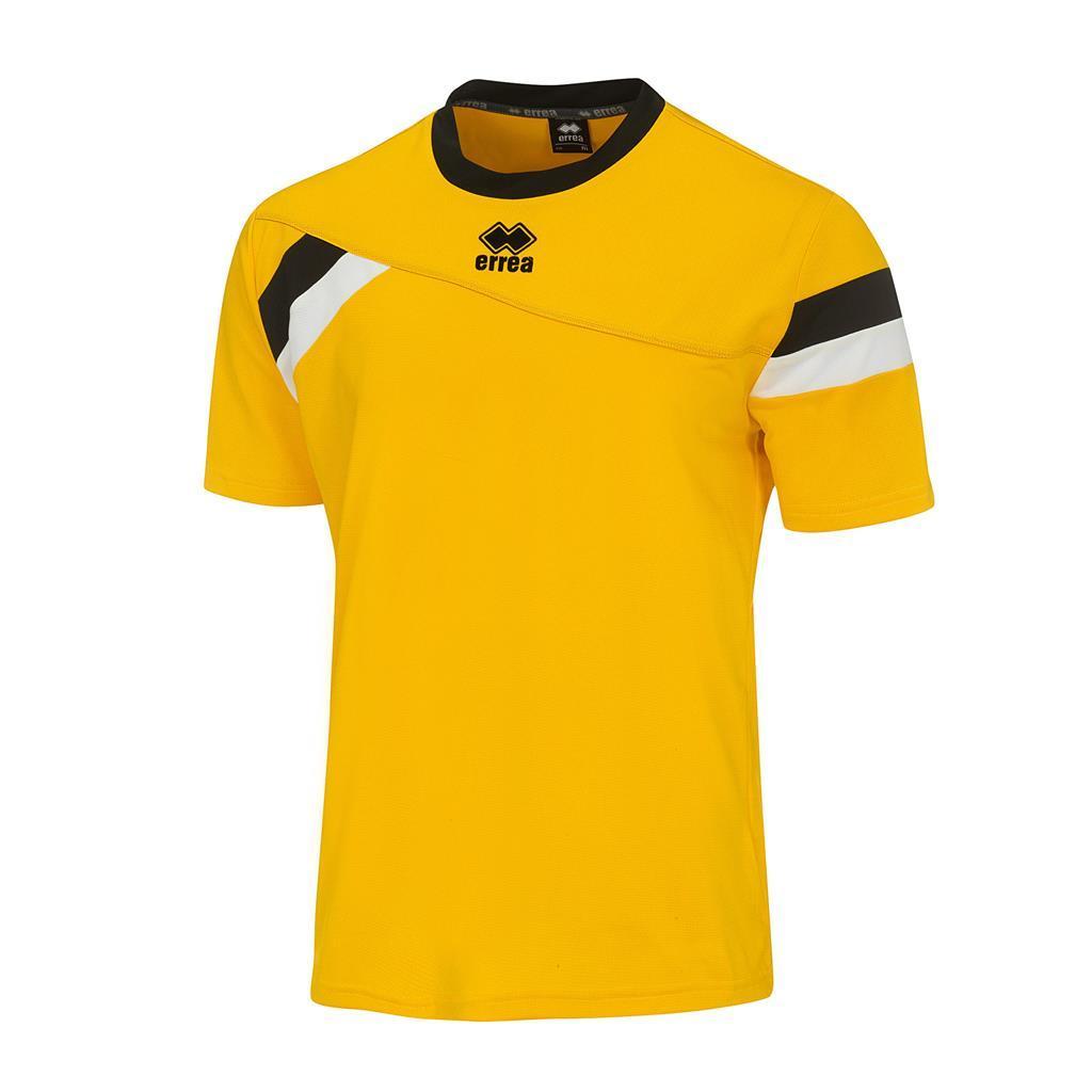 Футболка Errea FALKLAND XS жовтий/чорний/білий (DM0G1C05660)