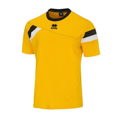 Футболка Errea FALKLAND XS жовтий/чорний/білий (DM0G1C05660), фото 2
