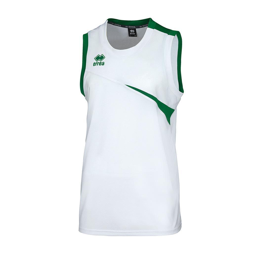 Майка Errea TORONTO XS белый/зеленый (DM0P1Z00230)