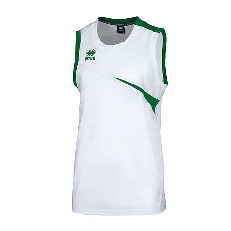 Майка Errea TORONTO XS белый/зеленый (DM0P1Z00230), фото 2