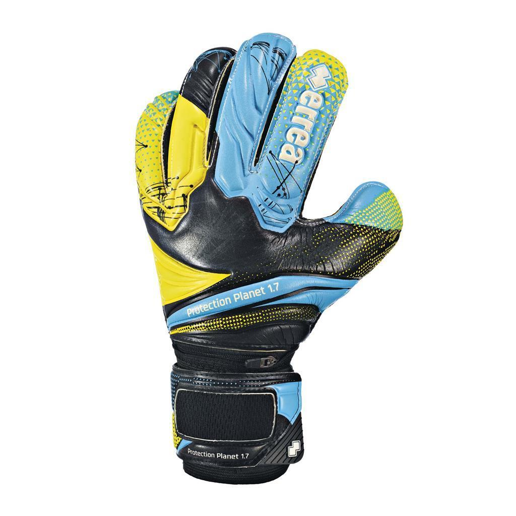 Перчатки Errea PROTECTION PLANET 1.7 4 черный/синий/желтый (EA2W1Z08010)