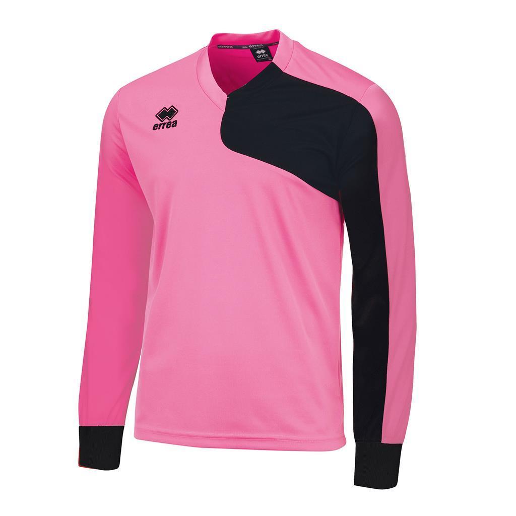 Футболка Errea MARCUS L/S L рожевий/чорний (EM0C0L12390)
