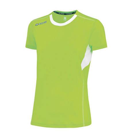 Футболка Errea STEN XS флуо/белый зеленый (EM0L1C05790), фото 2