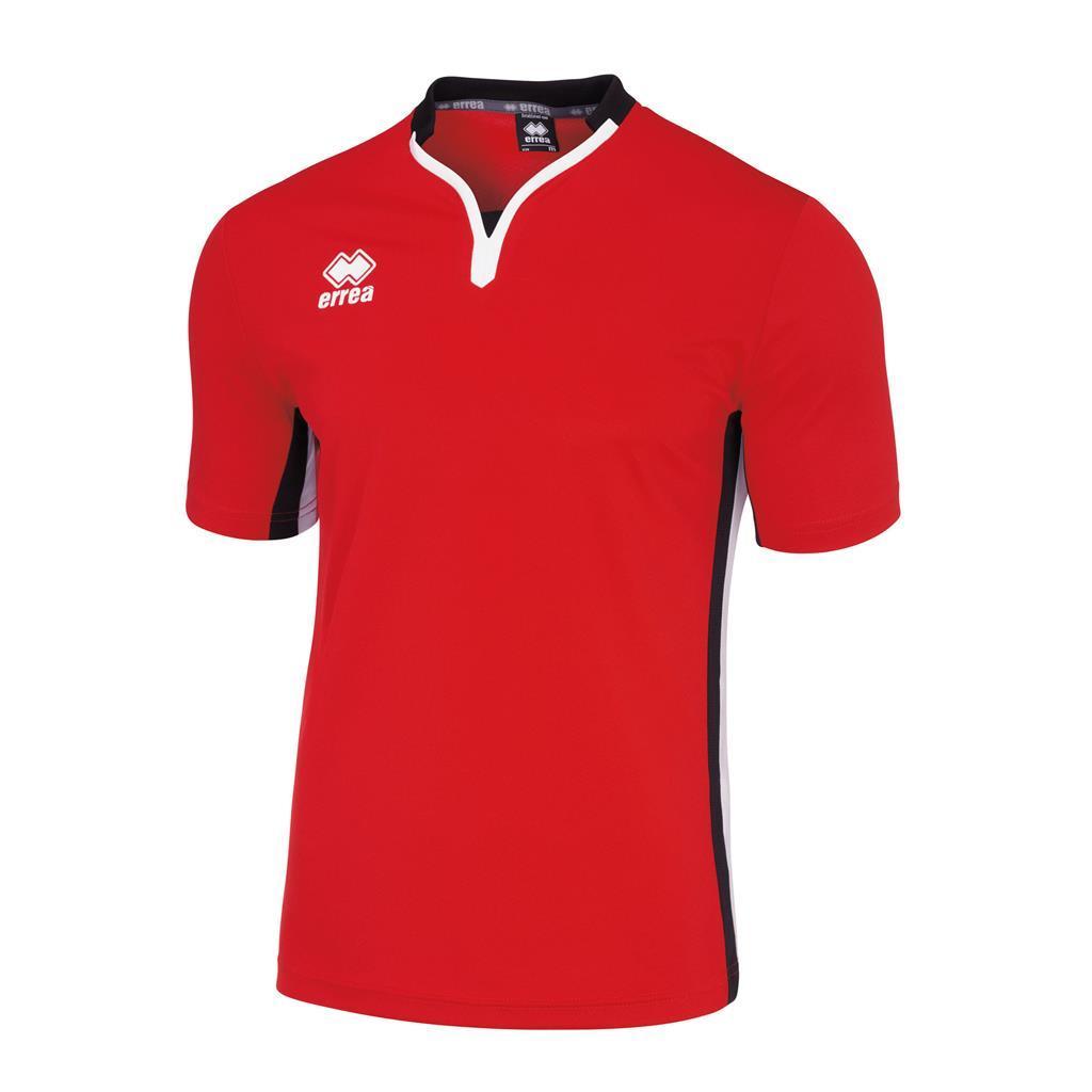 Футболка Errea EIGER XL красный/черный/белый (EM1B0C00670)