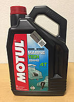 Масло MOTUL MARINE TECH 4T 25W-40 5л (107716), фото 1