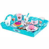 SMOBY Набор посуды Frozen Чаепитие с подносом и пирожными, 3+