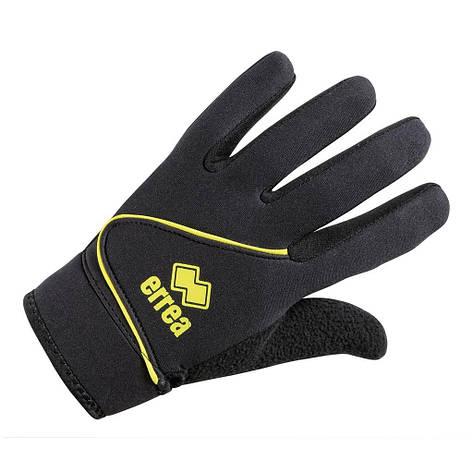 Перчатки Errea STEEL 8 черный/желтый (T0183000252), фото 2