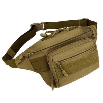 """Поясная сумка """"Protector Plus. Y109"""" (койот). EDC органайзер. Поясная сумка. Тактическая сумка"""