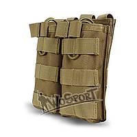 Магазинный подсумок: WoSport. MG-12 (койот). Подсумок для магазинов АК. Военный подсумок. Подсумок на molle