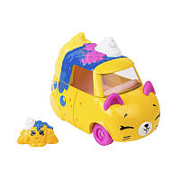Мини-машинка SHOPKINS CUTIE CARS S3 - СЕДАН-КРУАСАН (с мини-шопкинсом)