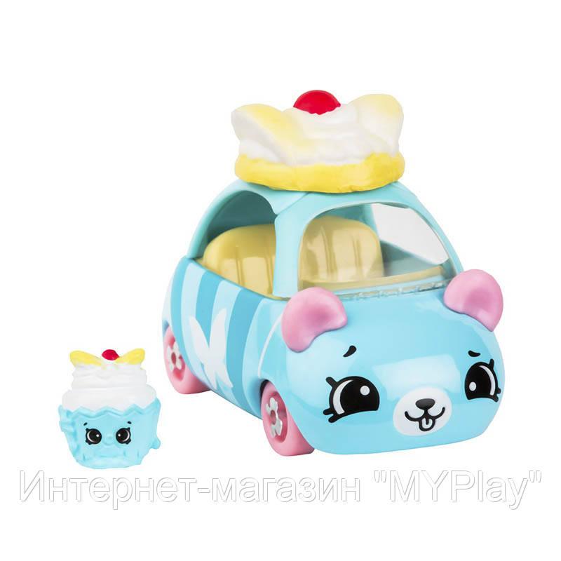 Мини-машинка SHOPKINS CUTIE CARS S3 - СКАЗОЧНЫЙ КЕКСИК (с мини-шопкинсом)