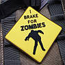 Патч. Zombies (желтый). шеврон. morale patches, фото 2