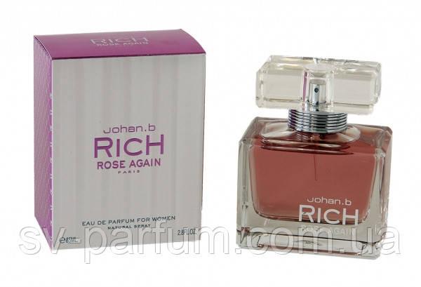 Парфюмированная вода женская Rich Rose Again 85ml