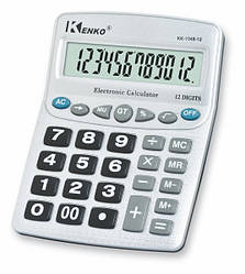 Калькулятор портативный настольный KENKO KK-1048