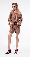 Комбинезон Favorini-21069 белорусский трикотаж, коричневый, 42