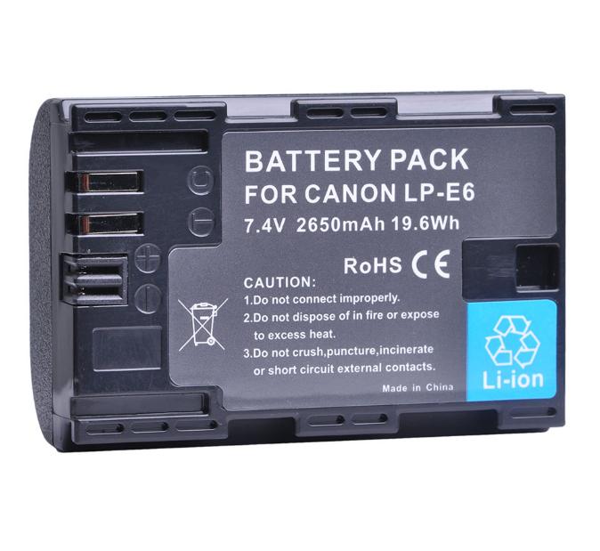 Аккумулятор Canon LP-E6 (BATMAX) 2650mAh