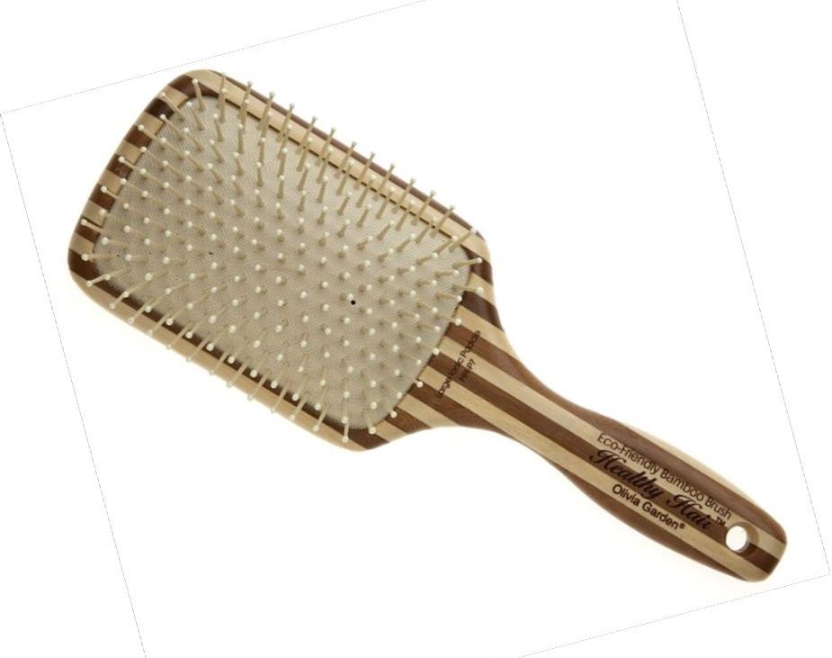 Щетка для волос Оlivia garden большая бамбуковая с нейлоновой щетиной