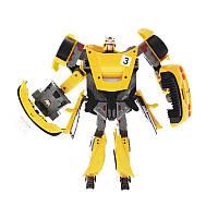 Робот-трансформер - CHEVROLET CORVETTE C6R (1:18)