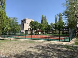 Двухслойное покрытие для спортивной площадки г. Миргород 43
