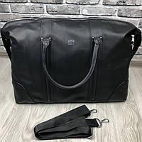 VIP дорожная сумка Givenchy черная кожаная Люкс Качество сумка Живанши Трендовая Модная реплика