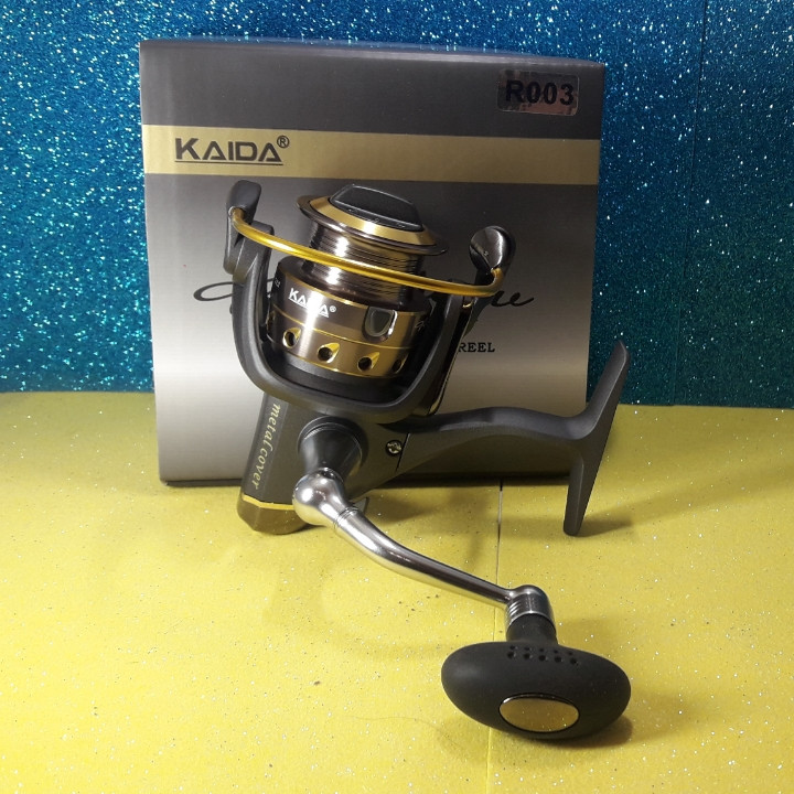 Спиннинговая котушка Kaida (Weida) Rainbow 3000