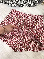 Женские летние шорты-юбка красные размер M, L