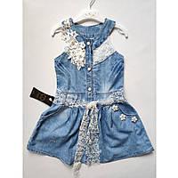 Платье джинсовое для девочки 6-9 лет Турция, фото 1