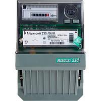 Счетчик электроэнергии Меркурий 230 AM-03 трехфазный однотарифный