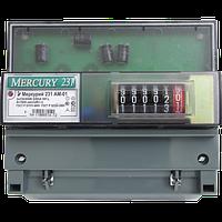 Счетчик электроэнергии Меркурий 231 AM-01 трехфазный однотарифный