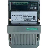 Счетчик электроэнергии Меркурий 230 AR-01 R трехфазный однотарифный