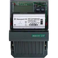 Счетчик электроэнергии Меркурий 230 ART-01 PQRSIN трехфазный многотарифный