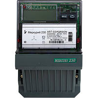 Счетчик электроэнергии Меркурий 230 ART-02 PQRSIN трехфазный многотарифный