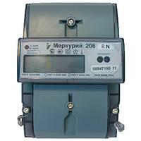 Счетчик электроэнергии Меркурий 206 RN однофазный многотарифный