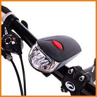 Велосипедный фонарь + мигалка