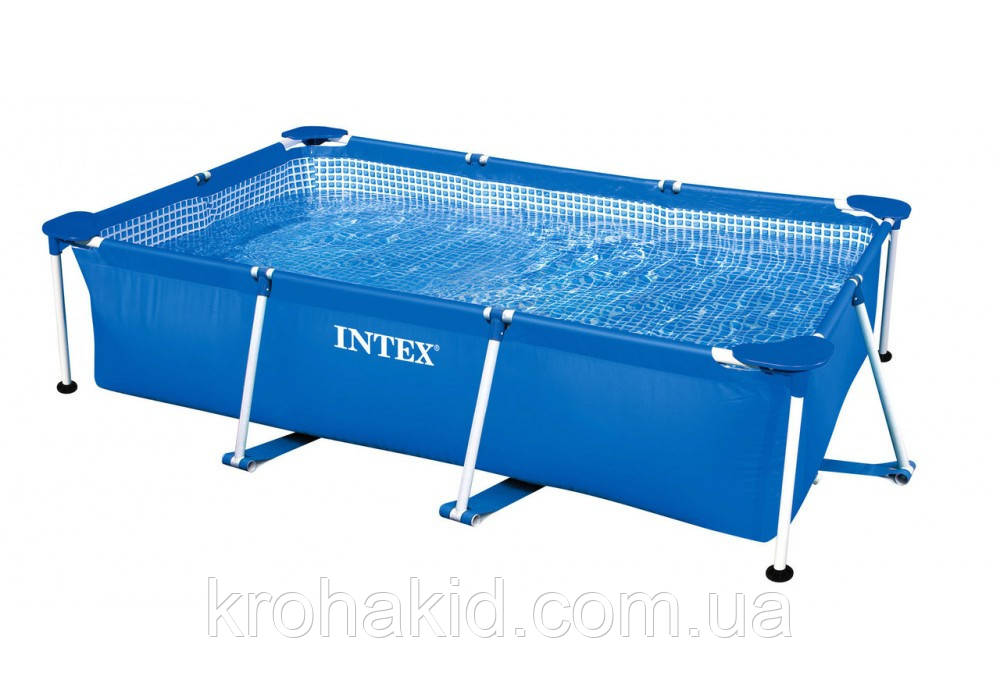 Каркасний басейн INTEX 28270 NP розмір 220-150-60 cm, об'єм води 2282 L.