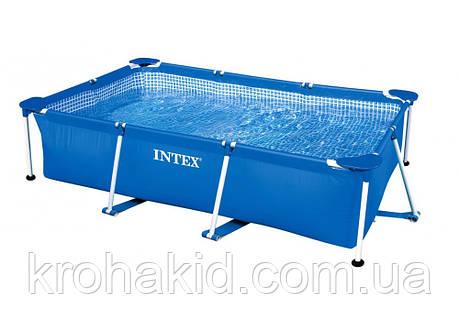 Каркасний басейн INTEX 28270 NP розмір 220-150-60 cm, об'єм води 2282 L., фото 2