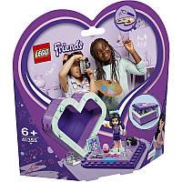 Конструктор LEGO FRIENDS Коробка-сердце с Эммой