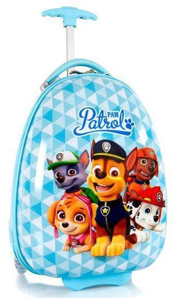 Пластиковый детский чемодан Heys NICKELODEON Paw Patrol He16193-6045-00 13 л, голубой
