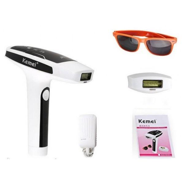 Лазерный эпилятор Kemei TMQ-KM 6812, фотоэпилятор
