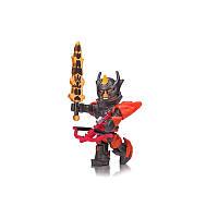 Игровая коллекционная фигурка Jazwares Roblox Core Figures  Flame Guard General