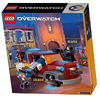 Конструктор LEGO OVERWATCH Бой Дорадо