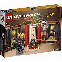 Конструктор LEGO OVERWATCH Гандзо против Гендзи